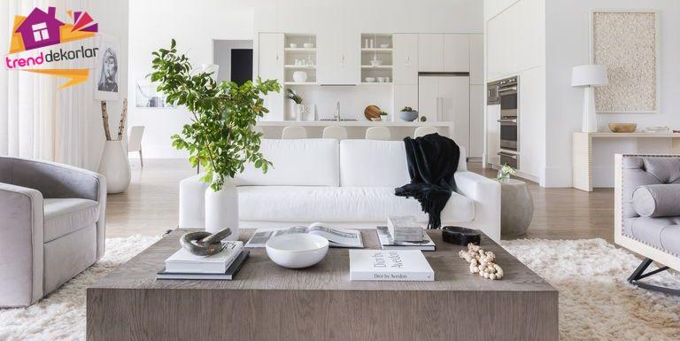 Salon ve Oturma Odası Dekorasyonu 2019 – 2019